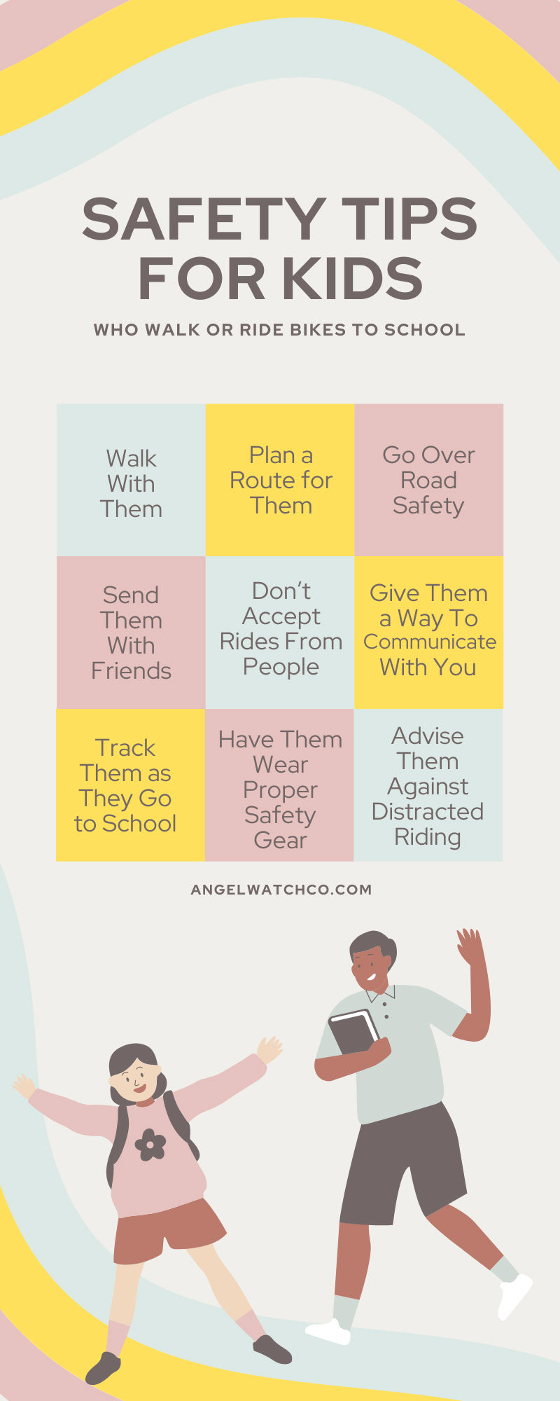 Safety Tips for Kids Who Walk or Ride Bikes to School