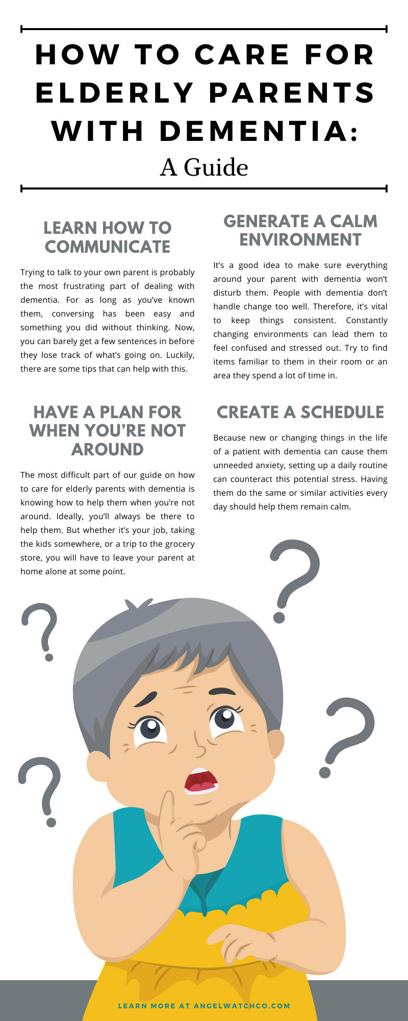How to Care for Elderly Parents With Dementia: A Guide