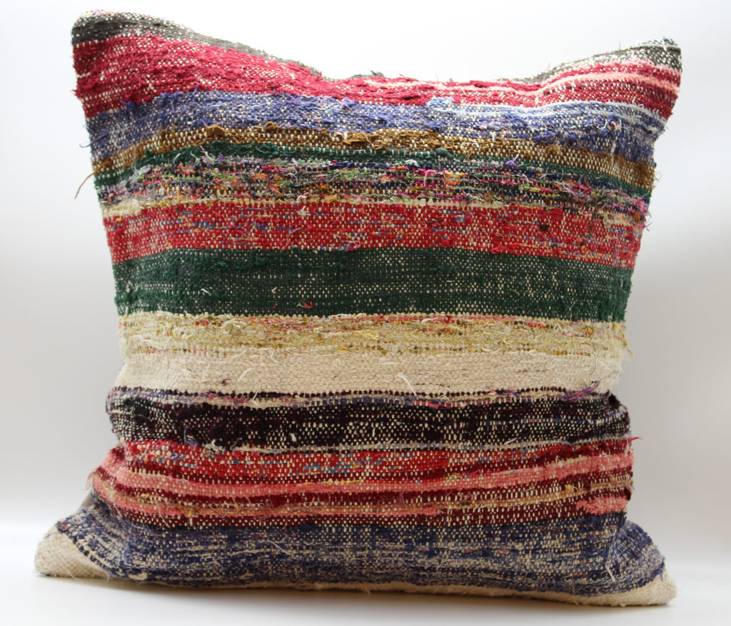 "Turkish Kilim Pillow Cover 24""X 24"" (1XL24X24)"