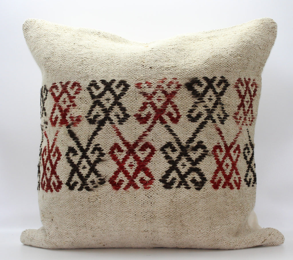 "Turkish Kilim Pillow Cover 24""X 24"" (5XL24X24)"
