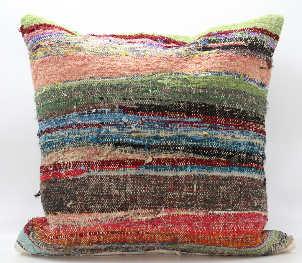 "Turkish Kilim Pillow Cover 24""X 24"" (9XL24X24)"