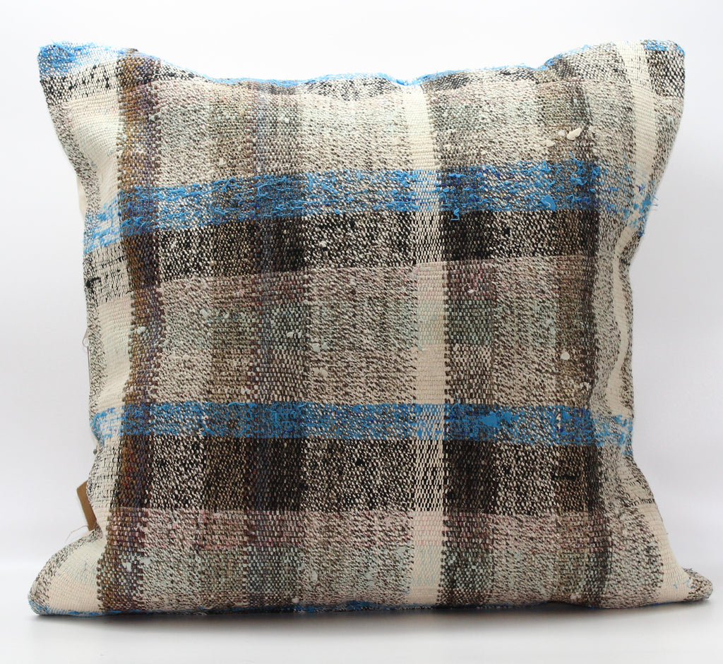 "Turkish Kilim Pillow Cover 24""X 24"" (10XL24X24)"
