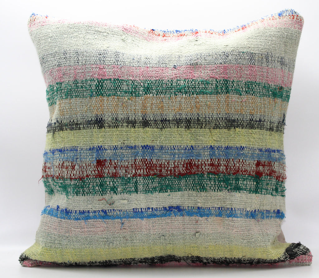 "Turkish Kilim Pillow Cover 24""X 24"" (15XL24X24)"