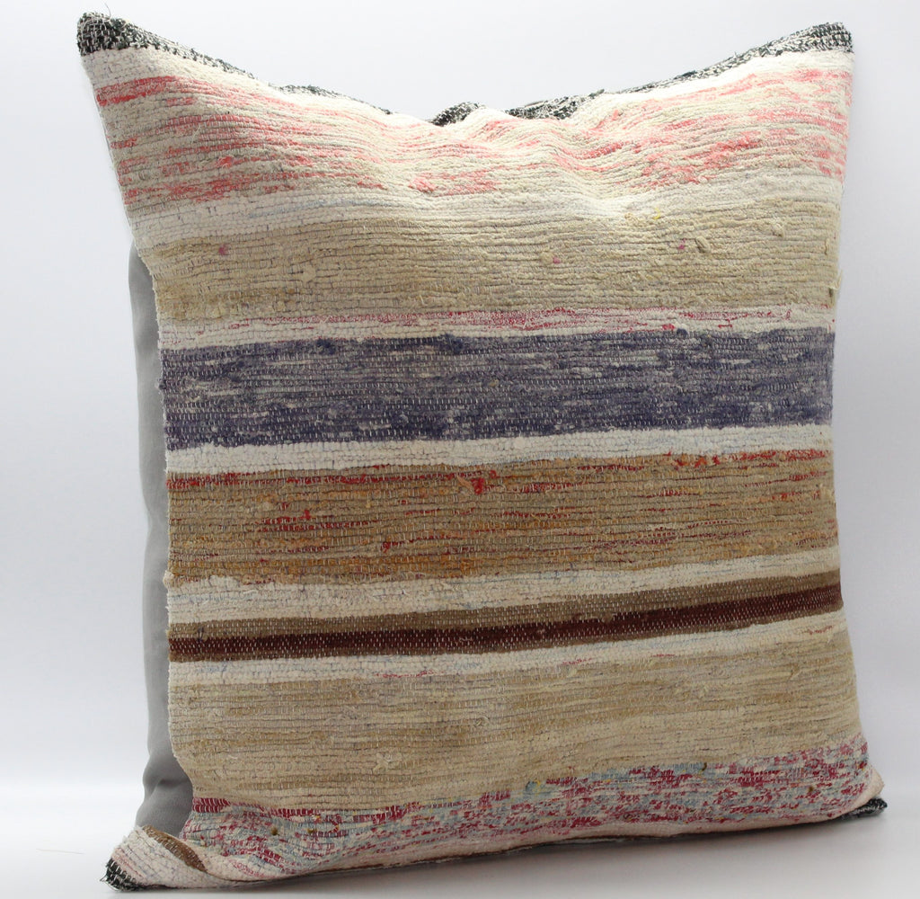 "Turkish Kilim Pillow Cover 24""X 24"" (42XL24X24)"