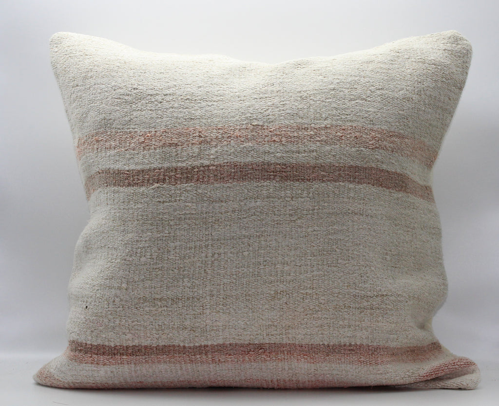 "Turkish Kilim Pillow Cover 24""X 24"" (39XL24X24)"