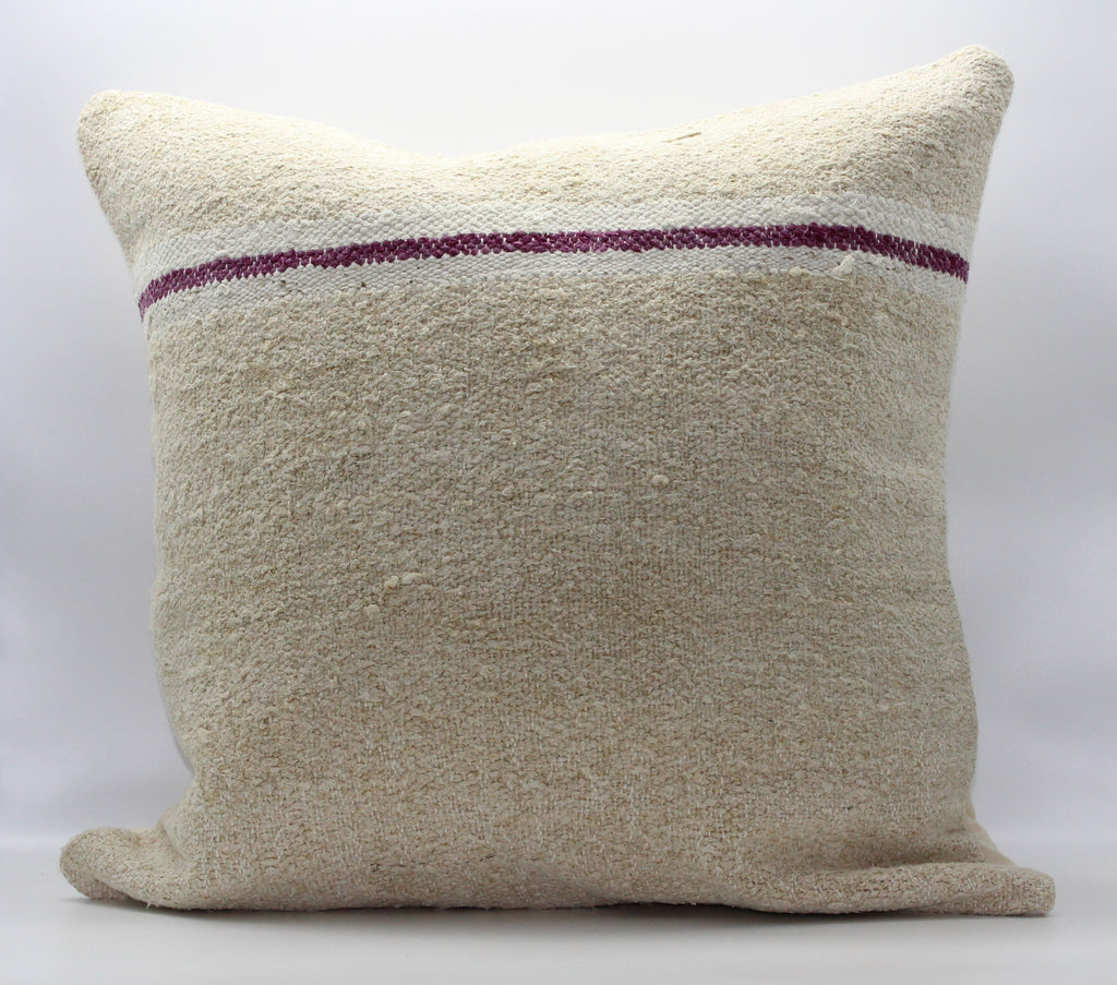 "Turkish Kilim Pillow Cover 24""X 24"" (35XL24X24)"