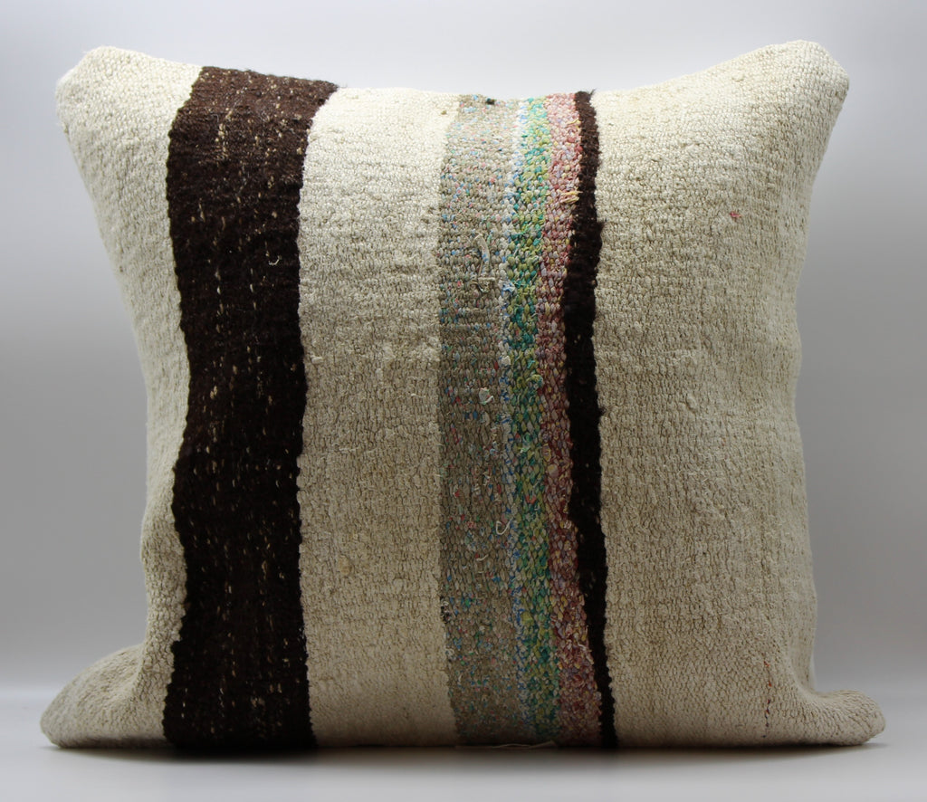 "Turkish Kilim Pillow Cover 24""X 24"" (32XL24X24)"