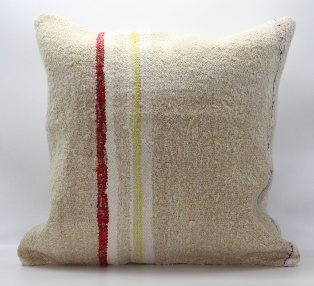 "Turkish Kilim Pillow Cover 24""X 24"" (34XL24X24)"