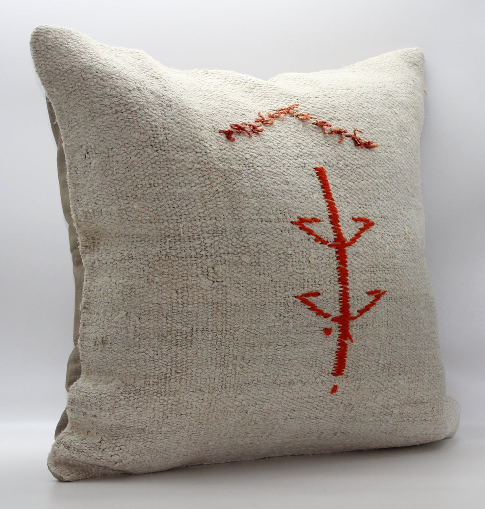 "Turkish Kilim Pillow Cover 24""X 24"" (17XL24X24)"