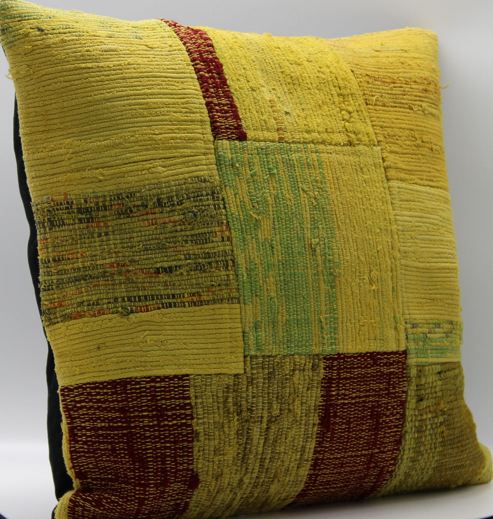"Turkish Kilim Pillow Cover 18""X 18"" (9M18X18)"