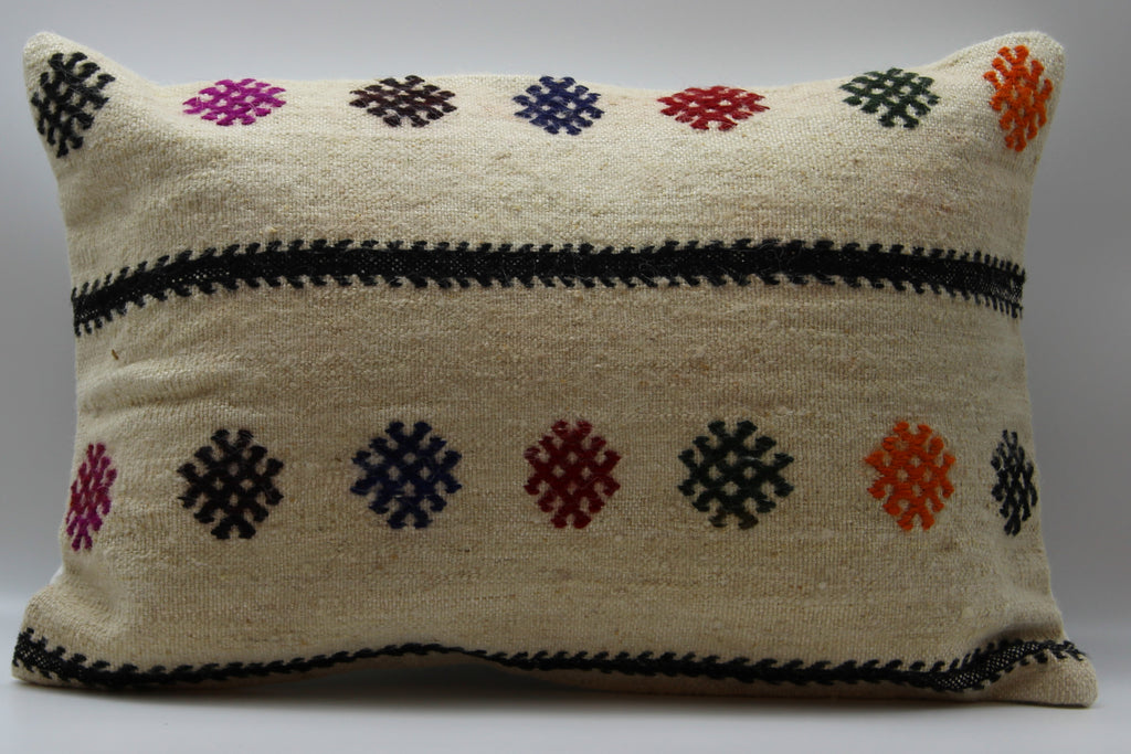 "Turkish Kilim Pillow Cover 16""X 24"" (29RL16X24)"
