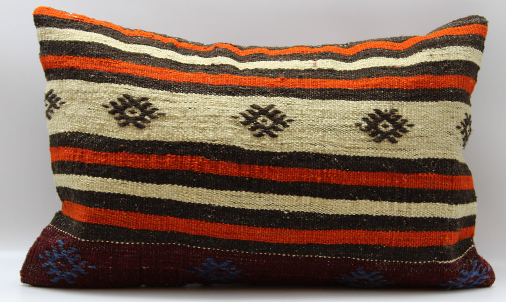 "Turkish Kilim Pillow Cover 16""X 24"" (30RL16X24)"