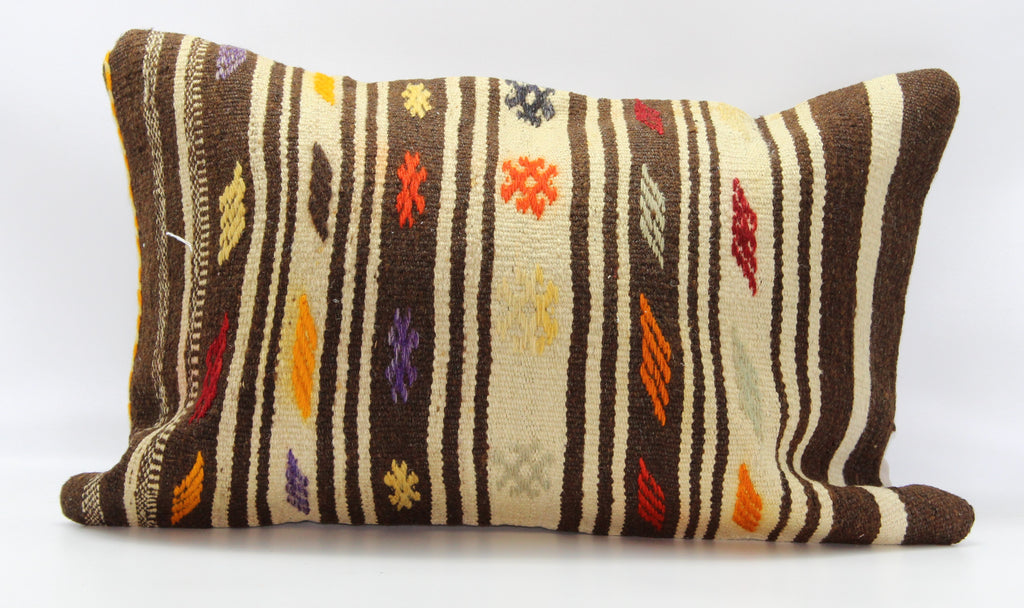 "Turkish Kilim Pillow Cover 16""X 24"" (24RL16X24)"