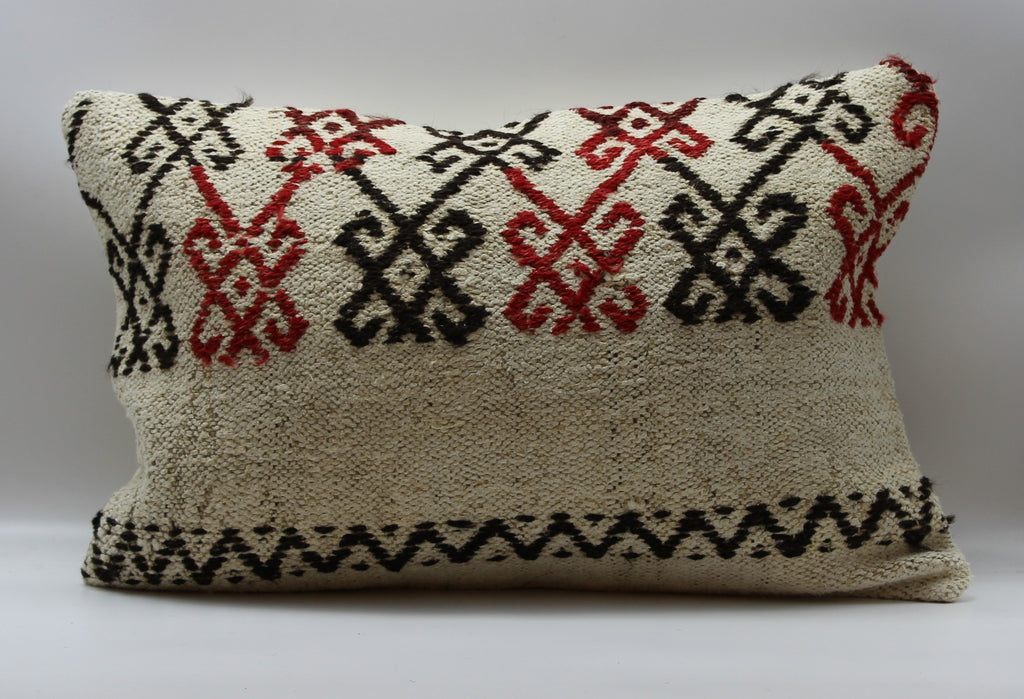 "Turkish Kilim Pillow Cover 16""X 24"" (35RL16X24)"