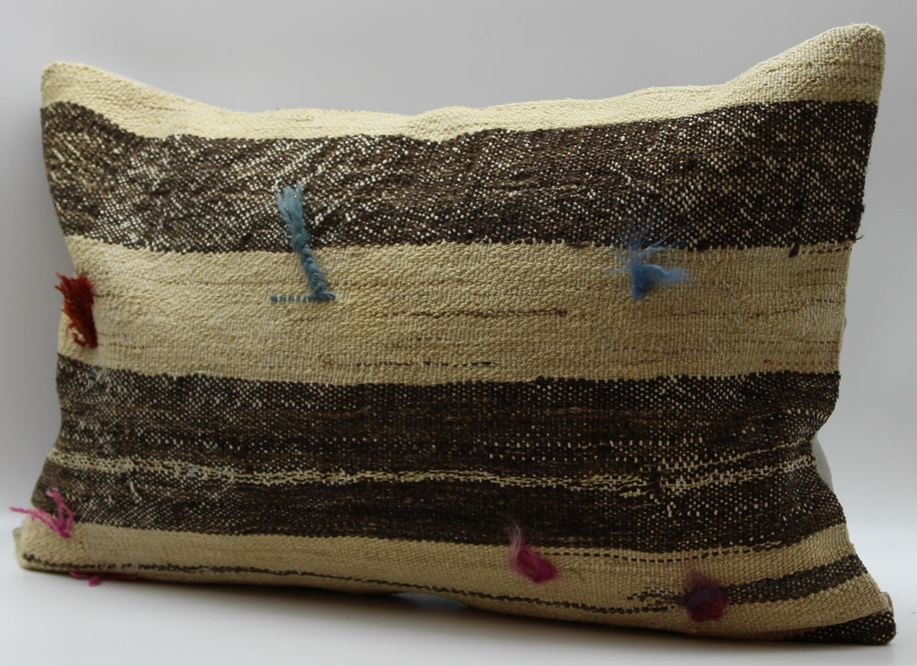 "Turkish Kilim Pillow Cover 16""X 24"" (40RL16X24)"