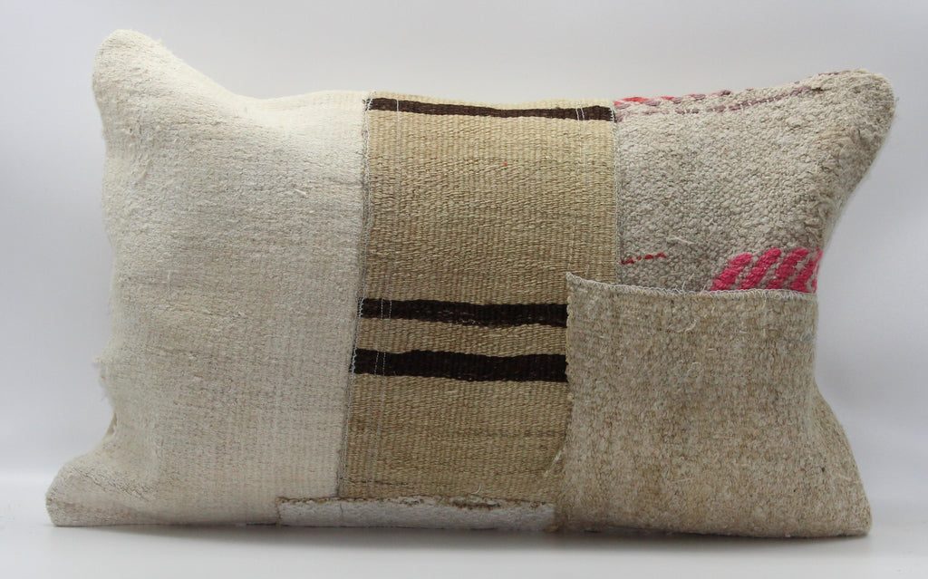 "Turkish Kilim Pillow Cover 16""X 24"" (50RL16X24)"