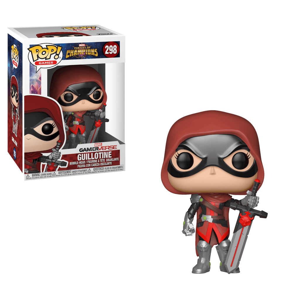 Funko Pop Games - Marvel Contest of Champions - Guillotine #298