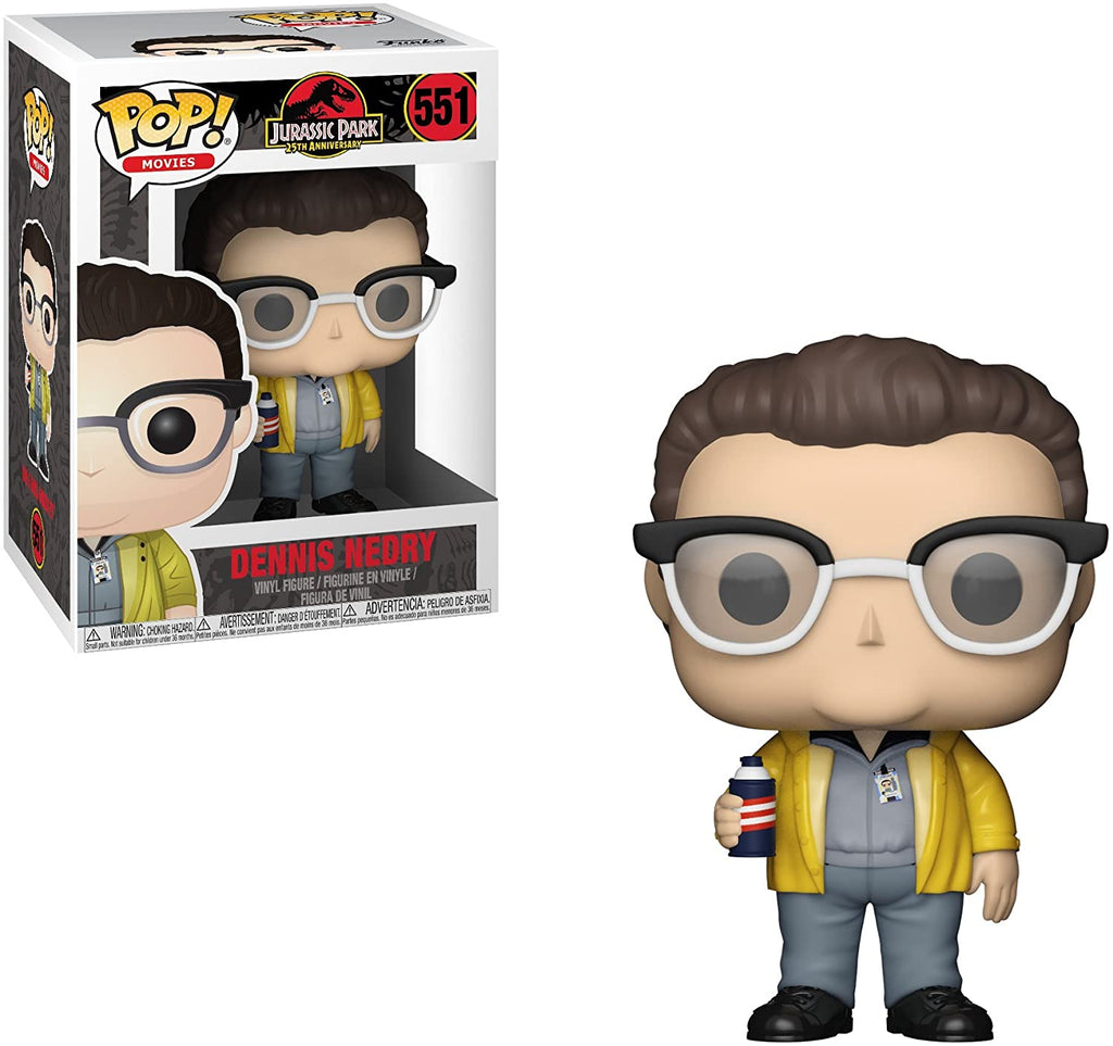 Funko Pop Movies - Jurassic Park 25th Anniversary - Dennis Nedry #551