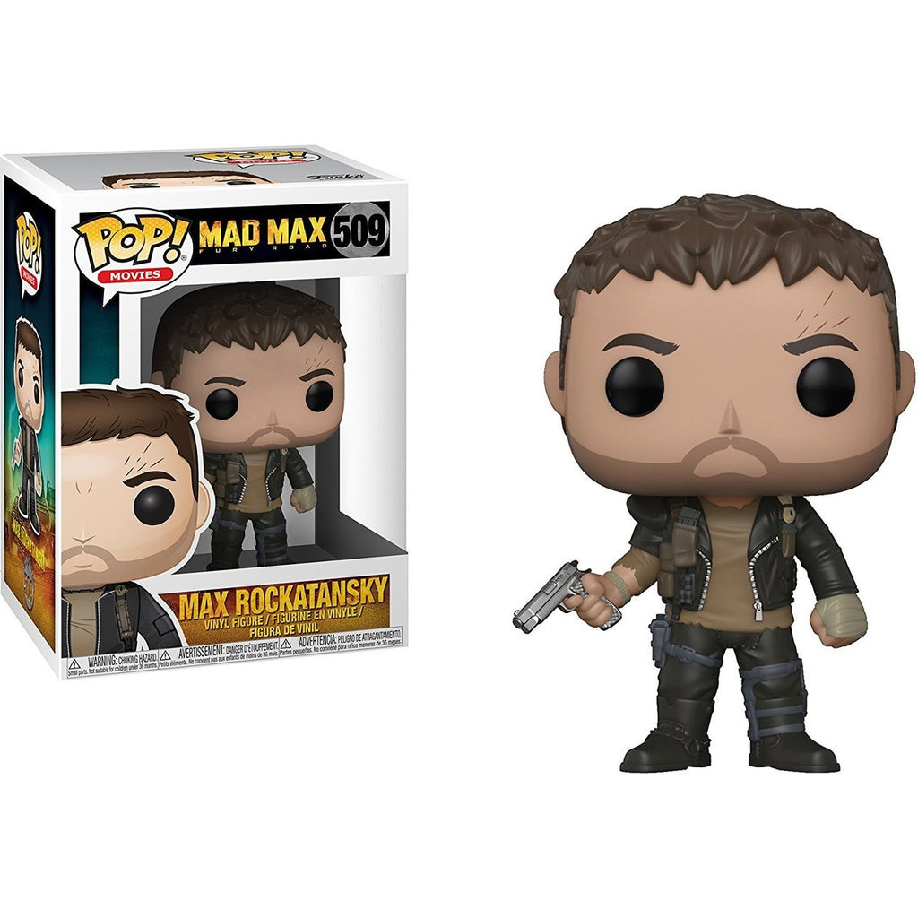 Funko Pop Movies - Mad Max Fury Road - Max Rockatansky with Gun #509
