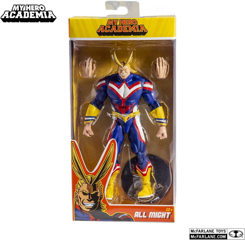 "My Hero Academia - All Might Action Figure 7"" 18cm - McFarlane Toys"