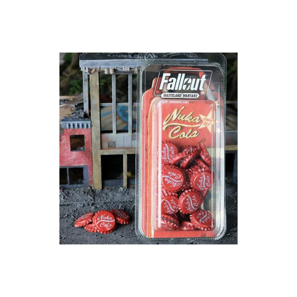 Fallout Wasteland Warfare - Nuka Cola Bottlecaps Set