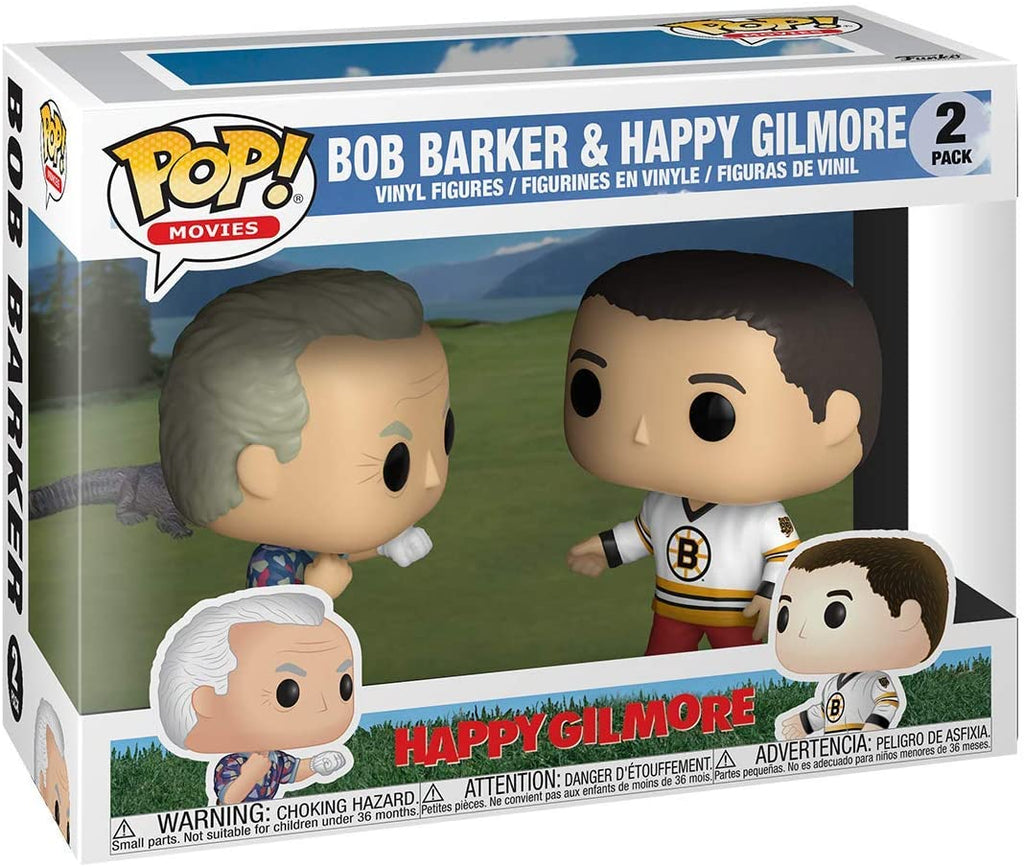 Funko Movies - Happy Gilmore - Bob Barker & Happy Gilmore - 2 Pack