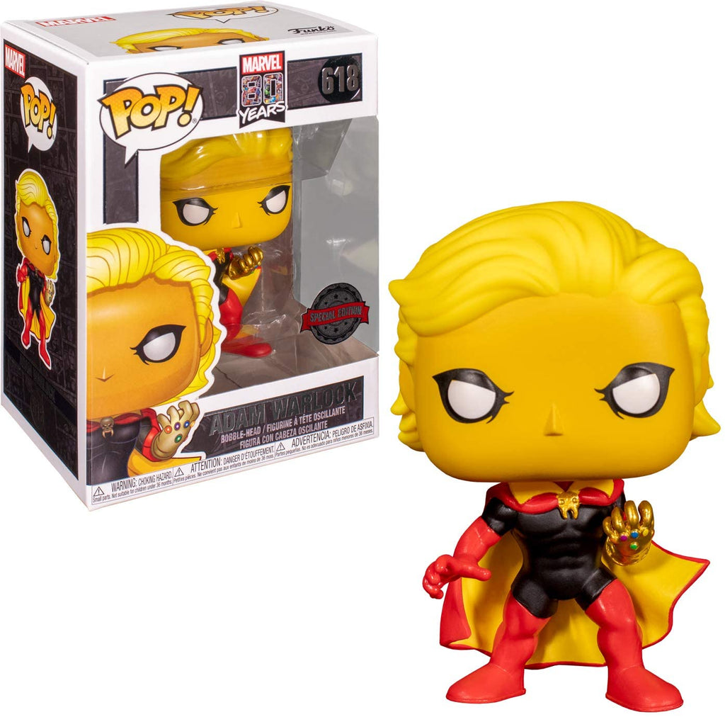 Funko Pop Marvel 80 Years - Adam Warlock - Special Edition #618