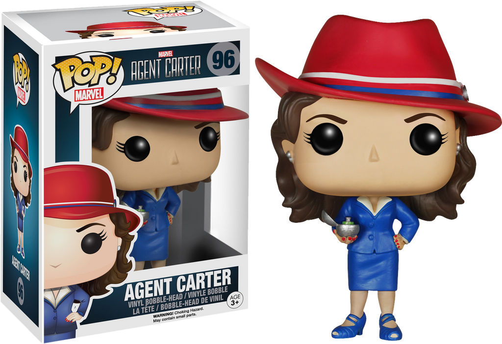 Funko Pop Marvel - Agent Carter #96