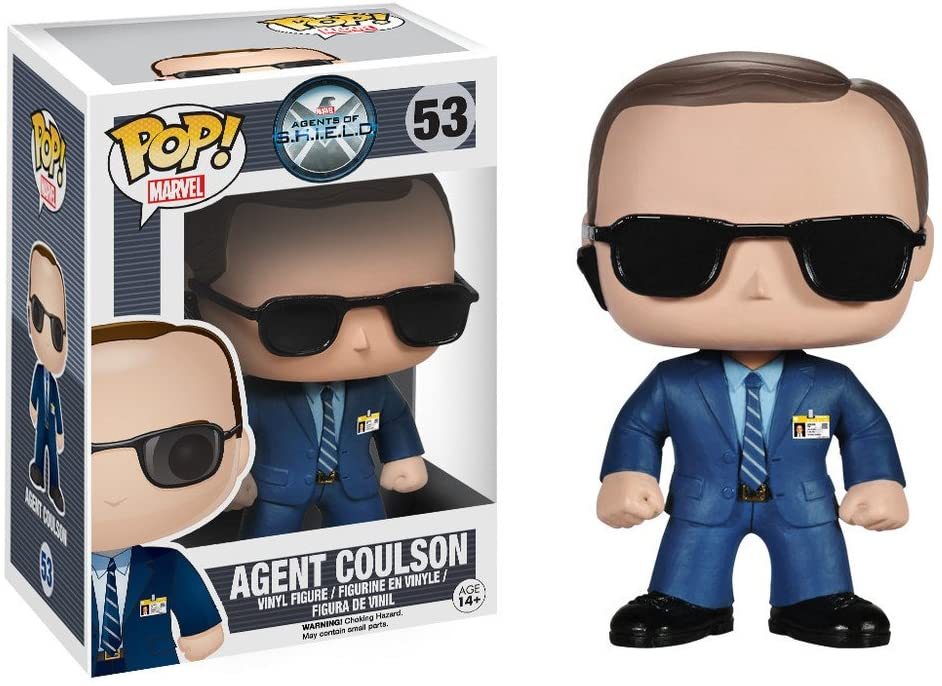 Funko Pop Marvel Agents of SHIELD - Agent Coulson #53
