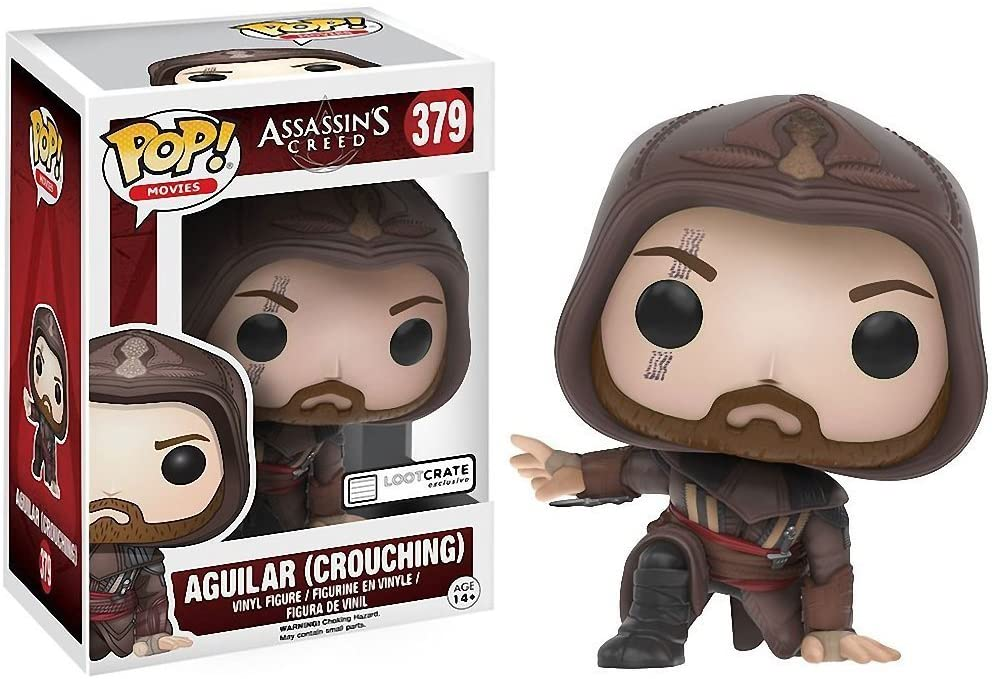 Funko Movies - Assassin's Creed - Aguilar (Crouching) #379 Lootcrate Exclusive