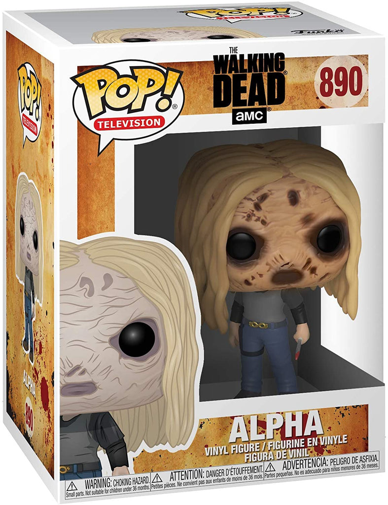 Funko Pop Television - The Walking Dead - Alpha with mask #890