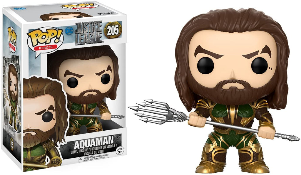 Funko Pop Heroes - Justice League - Aquaman #205