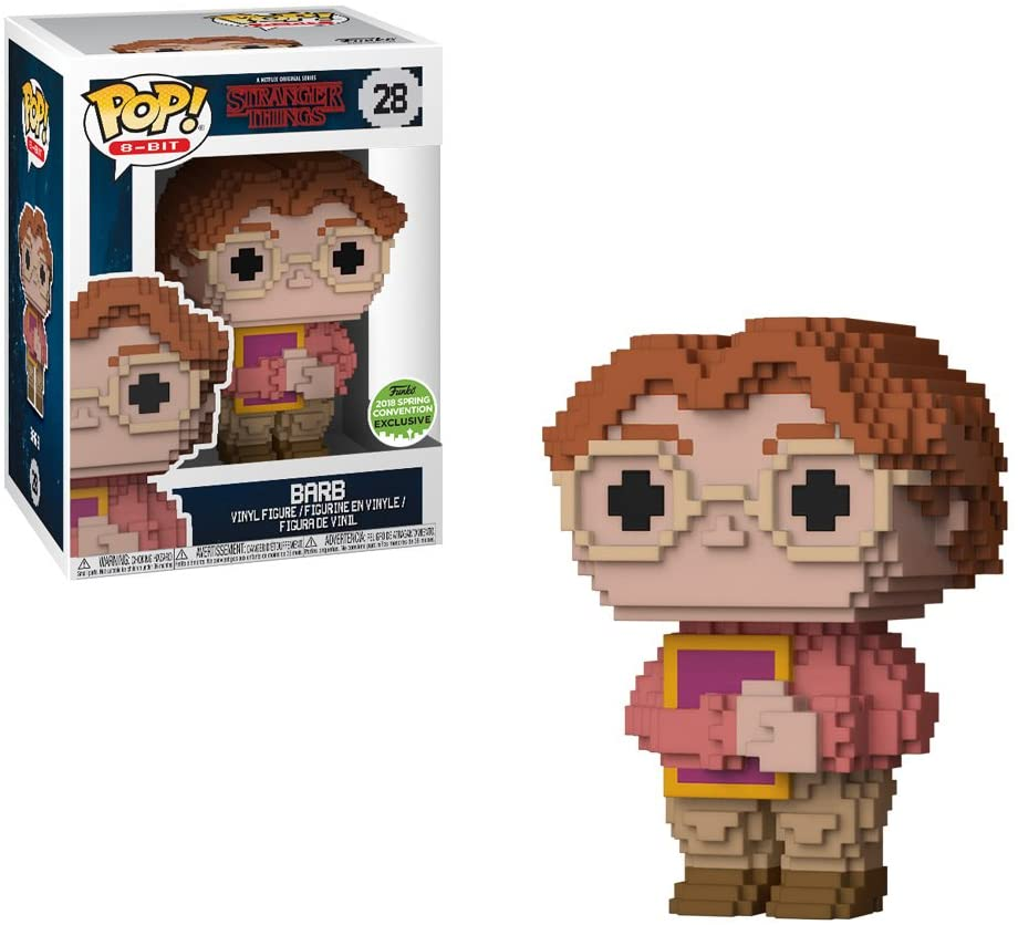 Funko Pop 8-Bit - Stranger Things - Barb 2018 Spring Convention Exclusive #28