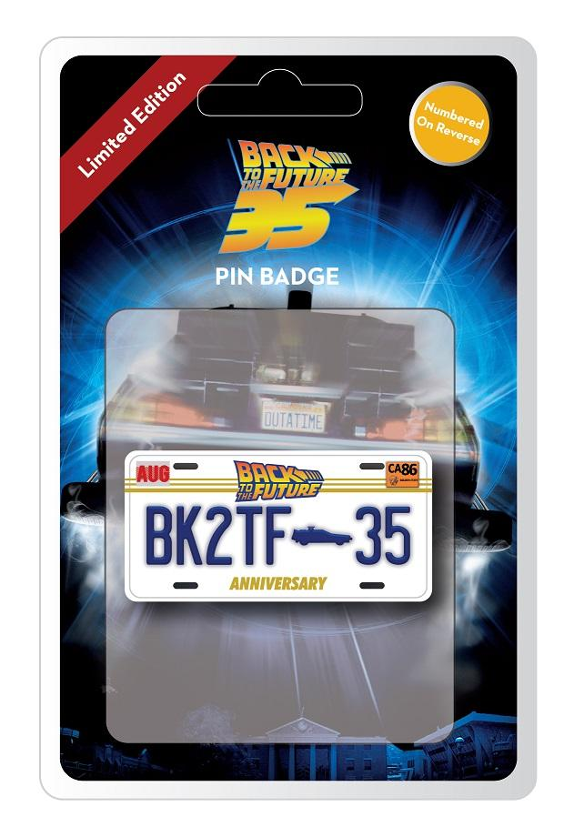 Back to the Future Limited Edition Pin Badge