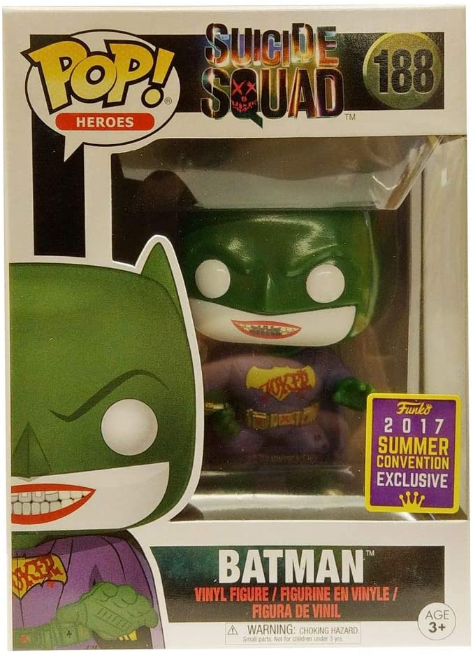 Funko Pop Heroes - Suicide Squad - Batman #188 - 2017 Summer Convention Exclusive