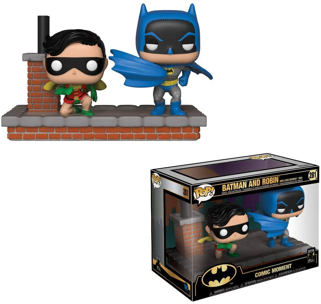 Funko Pop Comic Moment - Batman and Robin 1964 #281