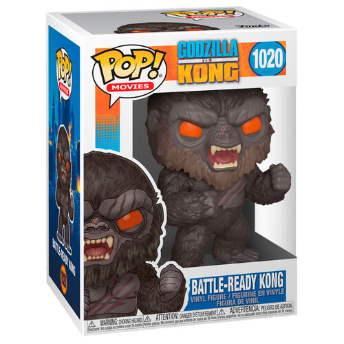Funko Movies - Godzilla vs Kong - Battle Ready Kong #1020