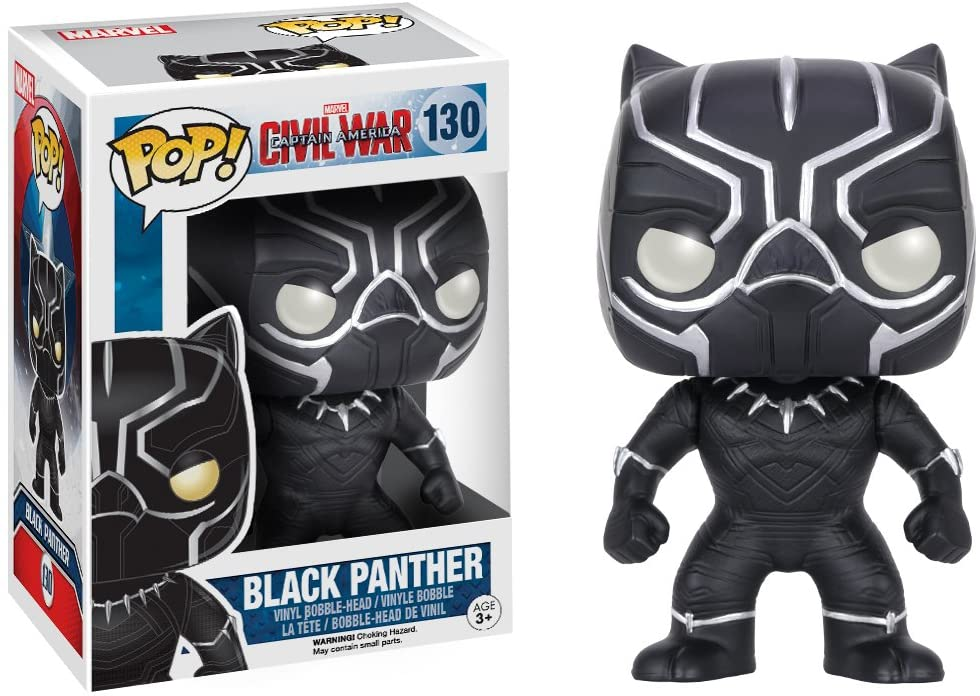 Funko Pop Marvel - Captain America Civil War - Black Panther #130