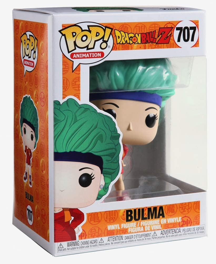 Funko Pop Animation - Dragon Ball Z - Bulma #707