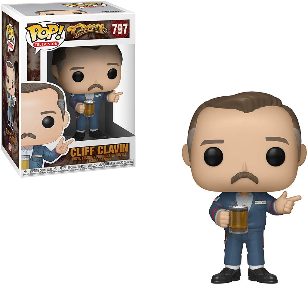 Funko Pop Television - Cheers - Cliff Clavin #797