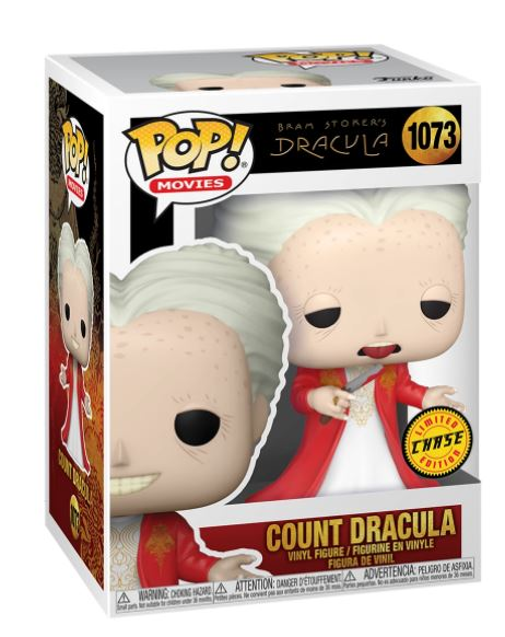 Funko Pop Movies -  Bram Stoker's Dracula - Count Dracula #1073 - Chase Exclusive