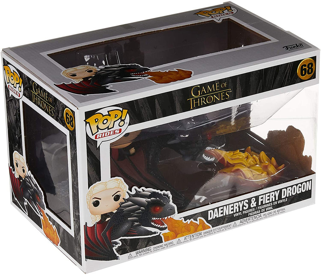 Funko Pop Rides - Game of Thrones - Daenerys on Fiery Drogon #68