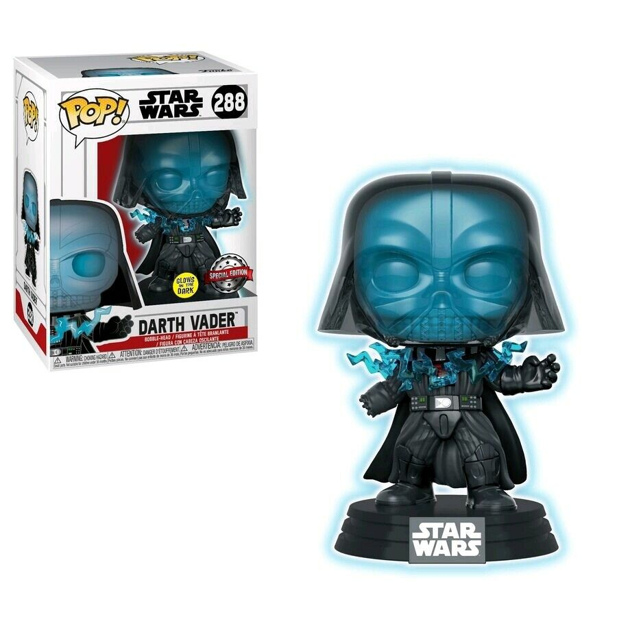 Funko Pop Star Wars - Darth Vader Electrocuted Glow in the Dark Exclusive #288