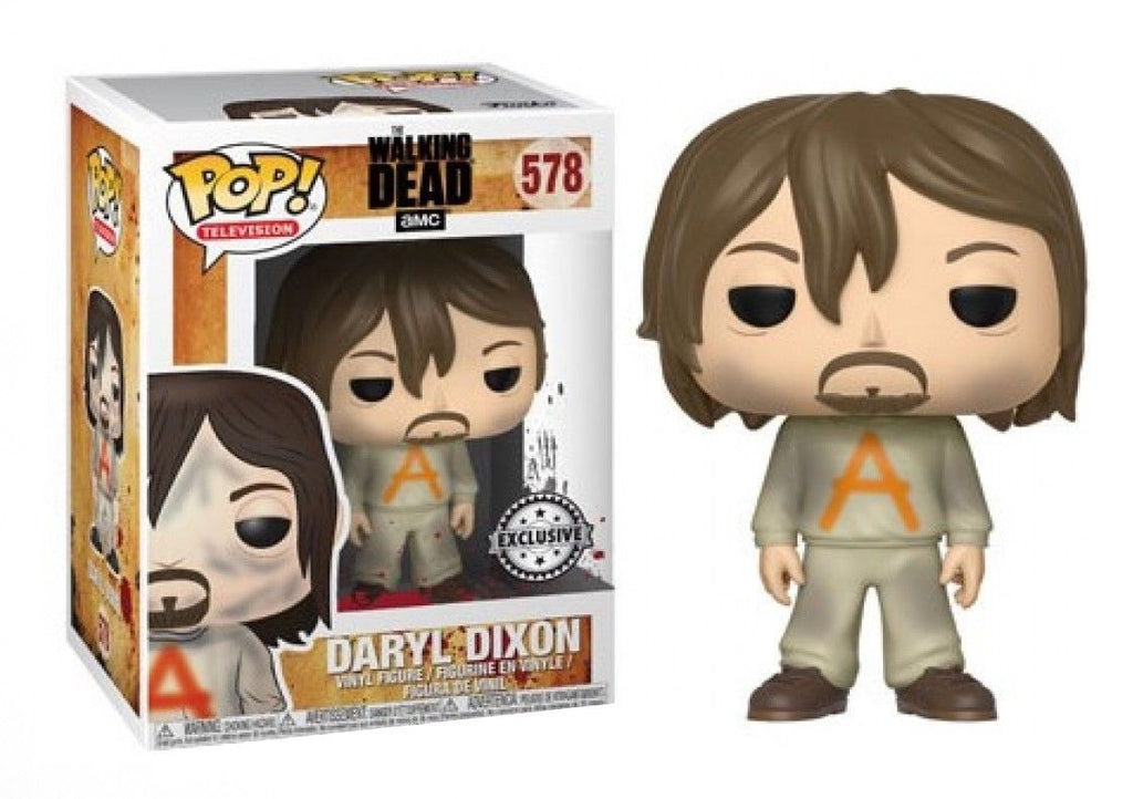 Funko Pop Television - The Walking Dead - Daryl Dixon in Prisoner Outfit Exclusive #578