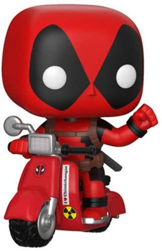 Funko Pop Rides - Deadpool on Scooter #48