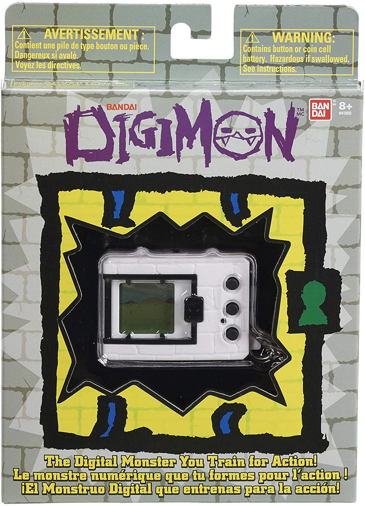 Digimon (Original) White - Virtual Monster Pet by Tamagotchi