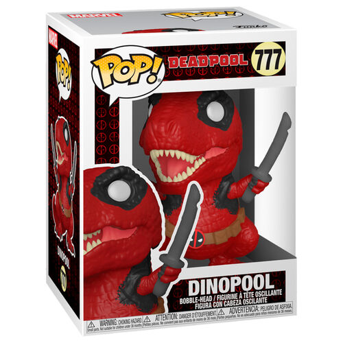 Funko Pop Marvel - Deadpool 30th - Dinopool Deadpool #777