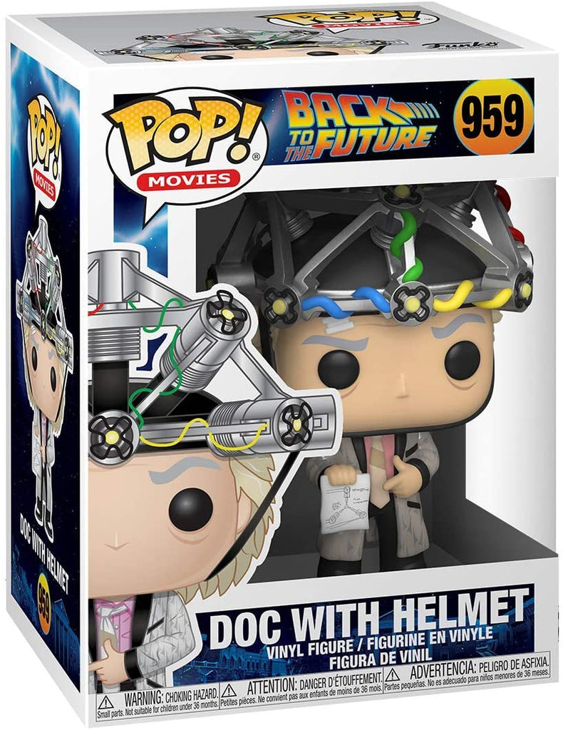 Funko Movies - Back to the Future - Doc with Helmet #959