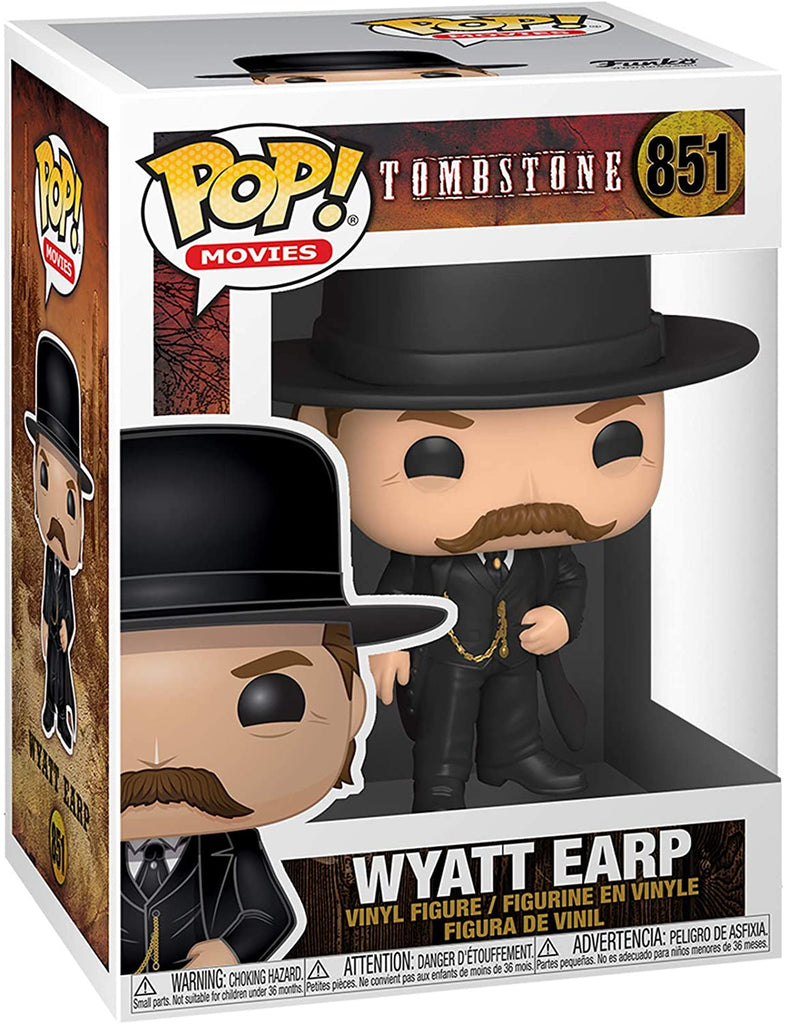 Funko Pop Movies - Tombstone - Wyatt Earp #851