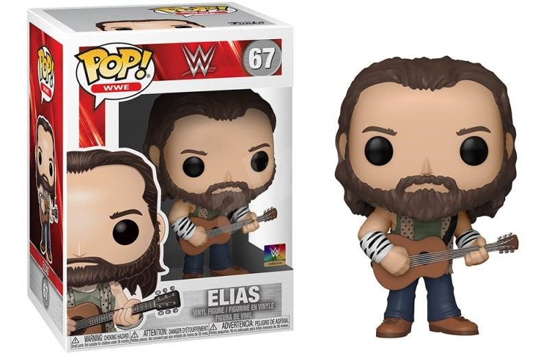 Funko Pop WWE - Elias with Guitar - #67